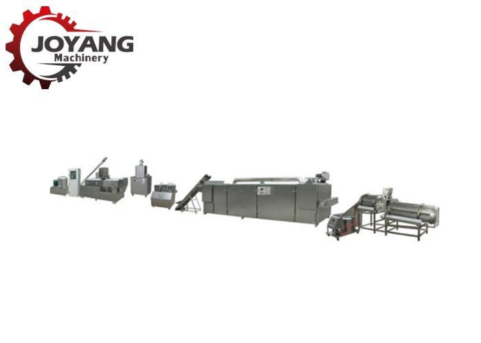 Stainless Steel Puff Filling Machine For Corn Snacks Making , Long Life